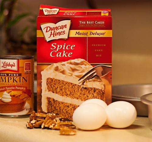 Duncan Hines Pumpkin Spice Cake Recipe
